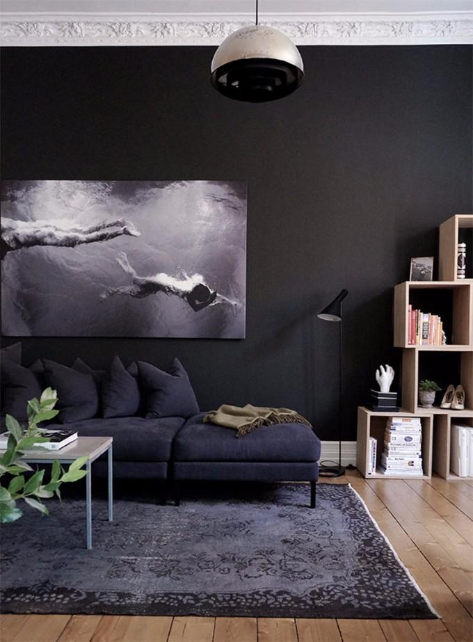 wohnzimmer-design Die dunkelere Seite vom Wohnzimmer-Design Die dunkelere Seite vom Wohnzimmer Design 4