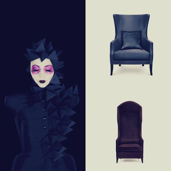 möbel design Mode und Möbel Design treffen sie sich in der Phantasie Mode M  bel