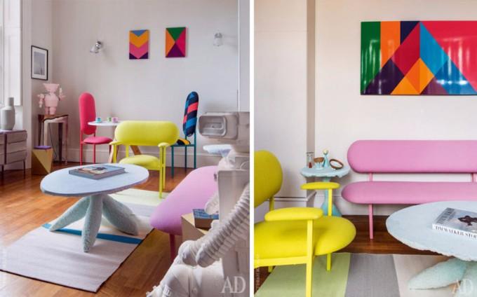 Pantone Farben Spiele in der Innenarchitektur pantone farben Pantone Farben Spiele in der Innenarchitektur Roundup Colorful Rooms 8 PERIDIS
