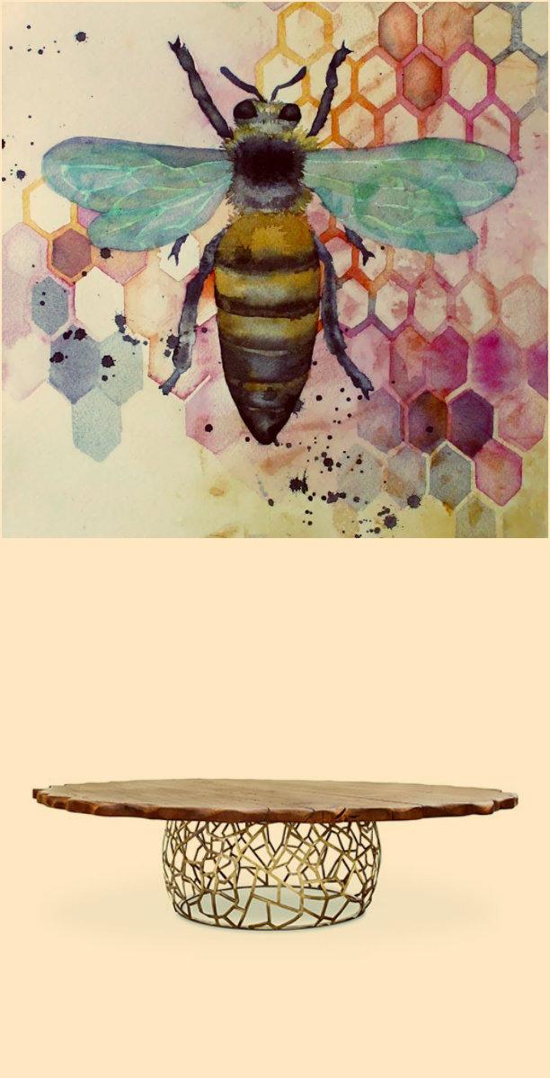 Designer Kunst Möbel Designer Kunst Möbel: Erstaunliche Natur Inspirationen biene natur 1
