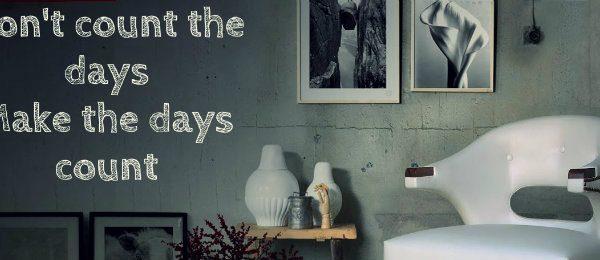 einrichtungsideen Glücklich zu Hause: Einrichtungsideen mit Motivationswände capa 10 600x260