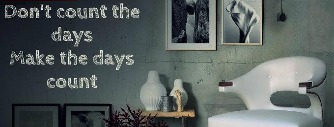 einrichtungsideen Glücklich zu Hause: Einrichtungsideen mit Motivationswände capa 10