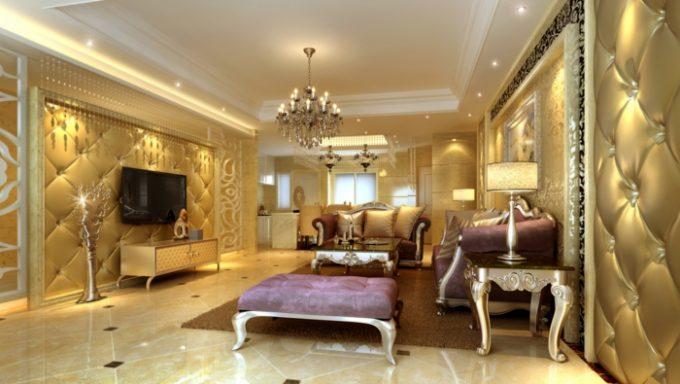einrichtungsdesign Bringen Sie den Wünchen Ihre Kunden in Ihrem Einrichtungsdesign luxus wohnzimmer gelbe farbschemen2 e1499770058991