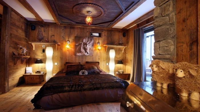 einrichtungsdesign Bringen Sie den Wünchen Ihre Kunden in Ihrem Einrichtungsdesign rustikale m  bel schlafzimmer einrichten coole deko