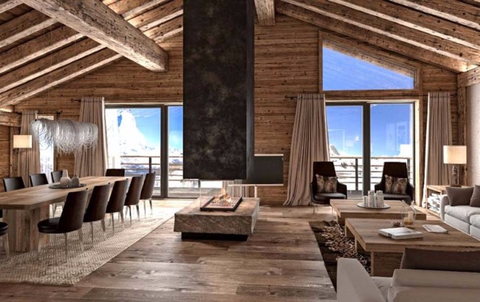 chalet design Erstaunliches Chalet Design zu Ihres Winter Chalet Erstaunliches Chalet Design zu Ihres Winter Chalet 7