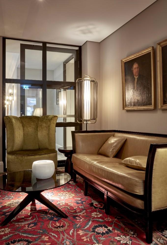 hotel inneneinrichtung Unglaubliche Hotel Inneneinrichtung in Hamburg Sir Nikolai Lounge Area 1