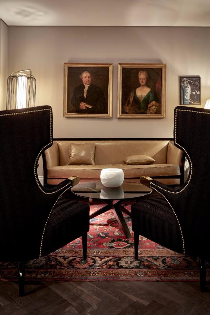 Unglaubliche Hotel Inneneinrichtung in Hamburg hotel inneneinrichtung Unglaubliche Hotel Inneneinrichtung in Hamburg Sir Nikolai Lounge Area 2