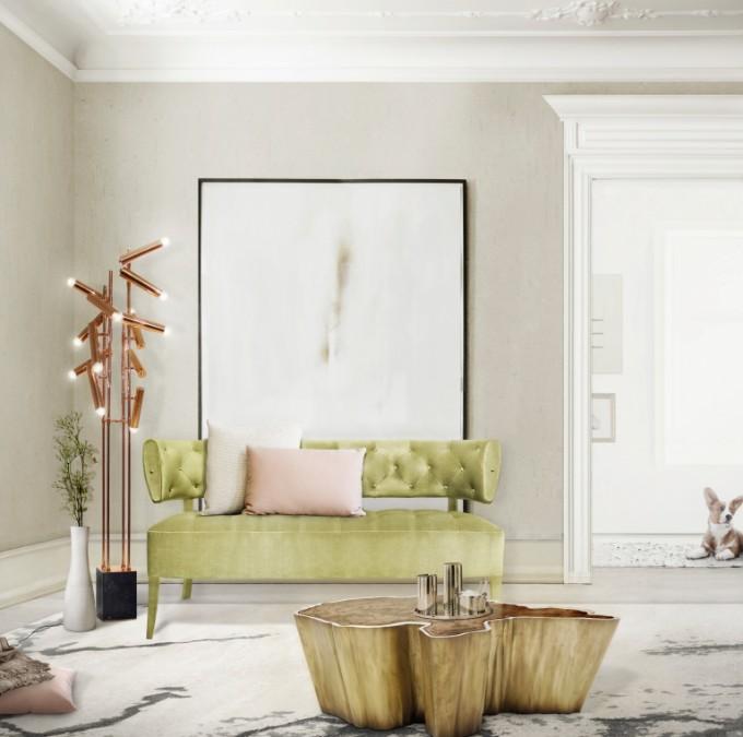 Wohndesign-Ideen: Stehlampen in Ihrem Wohnzimmer Design – Wohnen mit ...