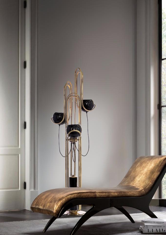 Wohndesign-Ideen: Stehlampen in Ihrem Wohnzimmer Design – Wohnen mit Klassikern