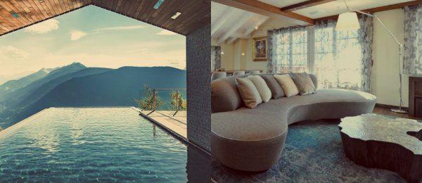 luxus chalets Atemberaubende Luxus Chalets für Winterurlaub in der Natur collage 1 600x260