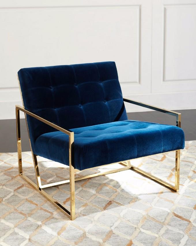 10  Charmante moderne Samtsessel, die Sie lieben werden 10 Charming Velvet Modern Chairs You Will Not Resist 4