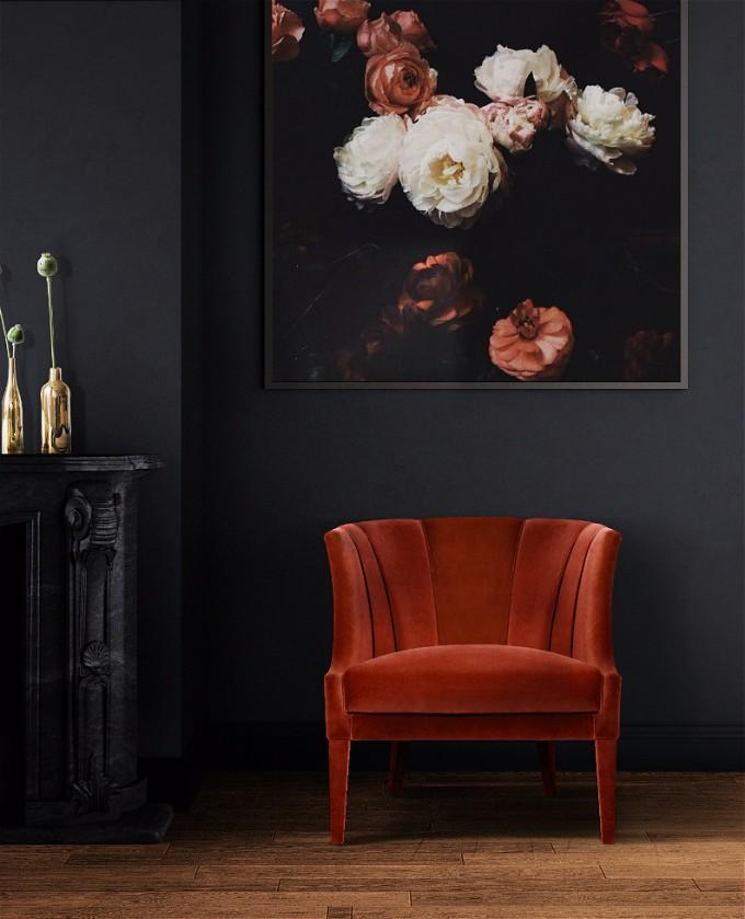 10  Charmante moderne Samtsessel, die Sie lieben werden 10 Charming Velvet Modern Chairs You Will Not Resist 7
