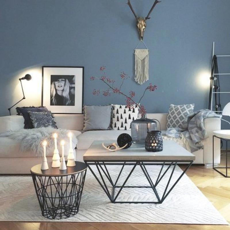 Wohnzimmer Skandinavisches Design: Erstauliche Skadinavische Wohnzimmer-Ideen Für Den Herbst
