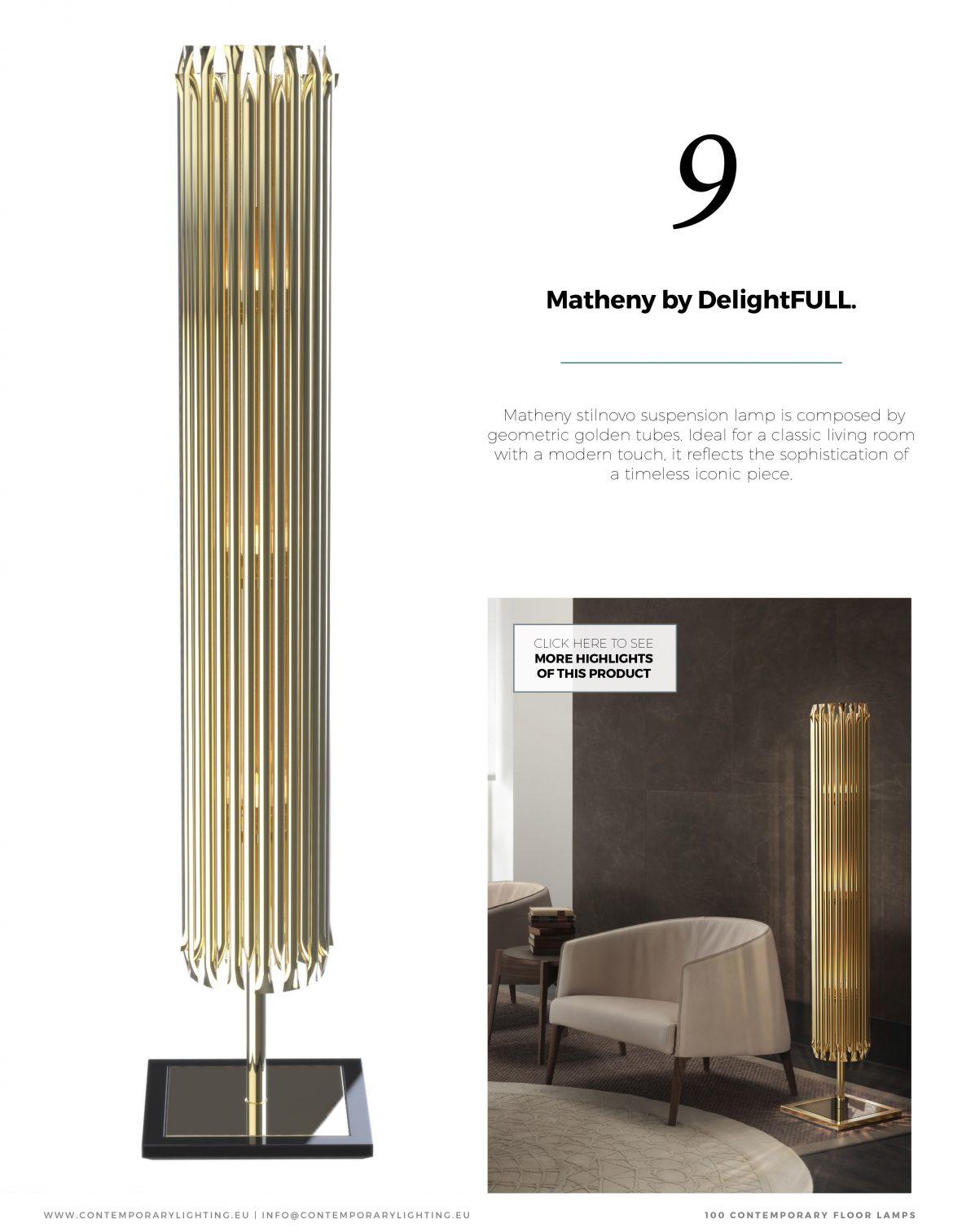 100 Zeitgenössiche Stehlampe E-Büch 100 ContemporaryFloorLamps 11