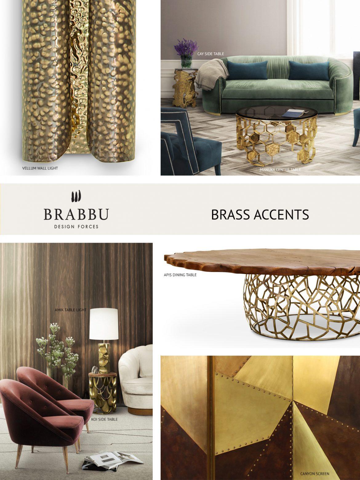 Top Materialien für Ihr modernes Wohndesign diesen Herbst modernes wohndesign Top Materialien für Ihr modernes Wohndesign diesen Herbst brass