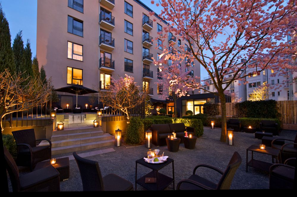 Modernes design das georges hotel in hamburg wohnen for Design hamburg hotel