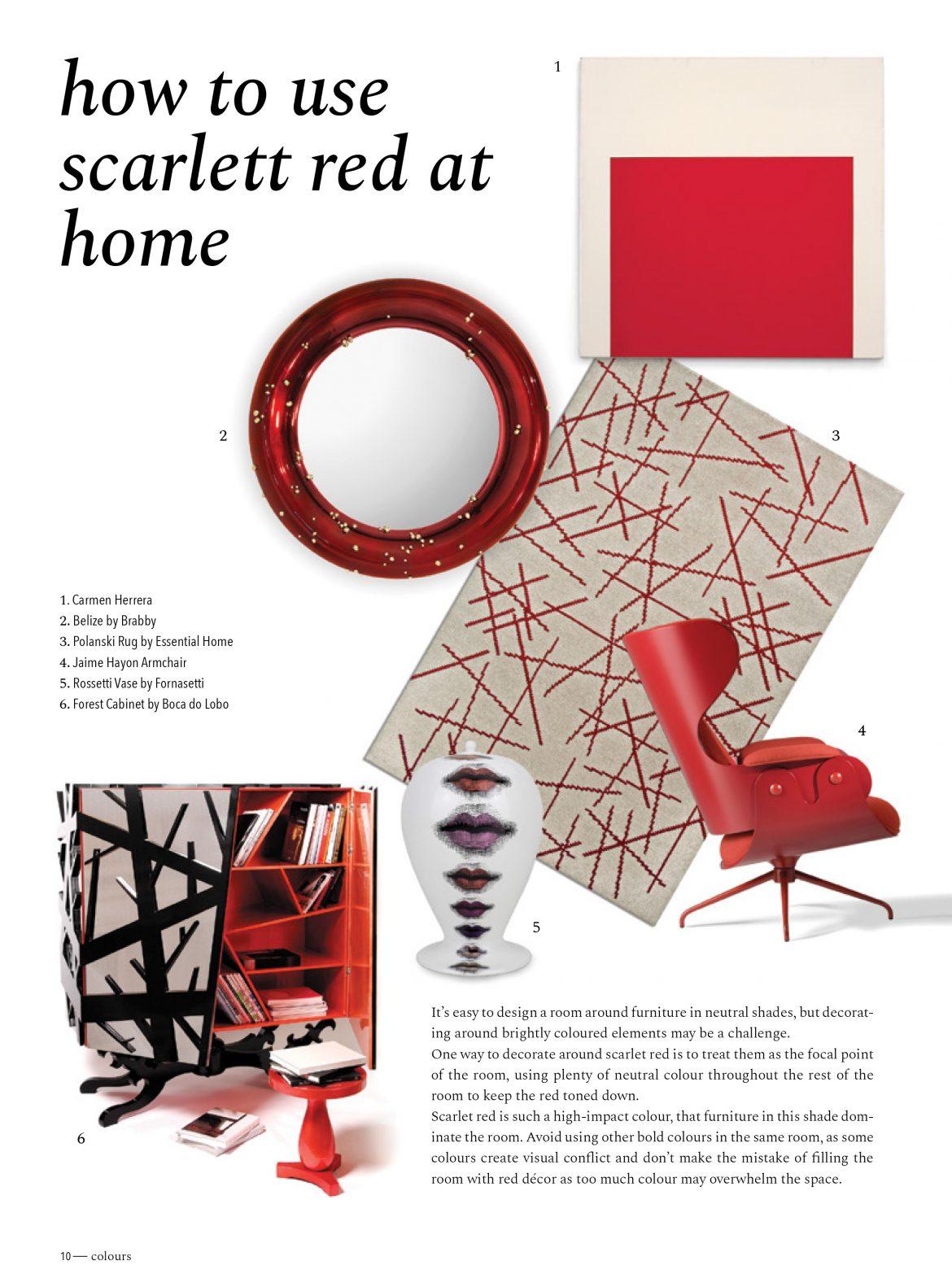 Das Farbe-Trendbuch 2018: Scarlet Rot farbe-trendbuch 2018 Das Farbe-Trendbuch 2018: Scarlet Rot trends forecast fall winter 2018 book 10