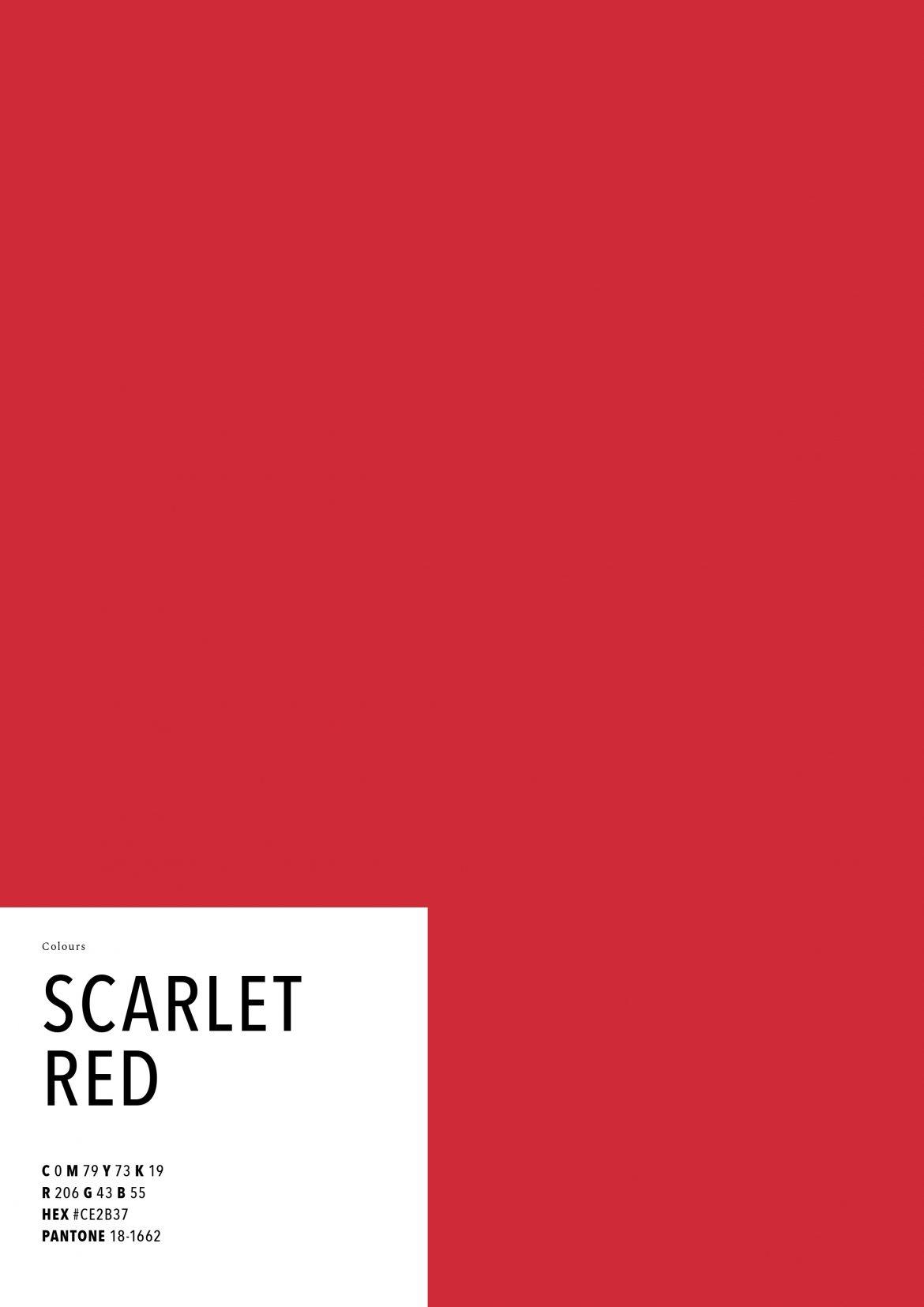 das farbe trendbuch 2018 scarlet rot wohnen mit klassikern. Black Bedroom Furniture Sets. Home Design Ideas