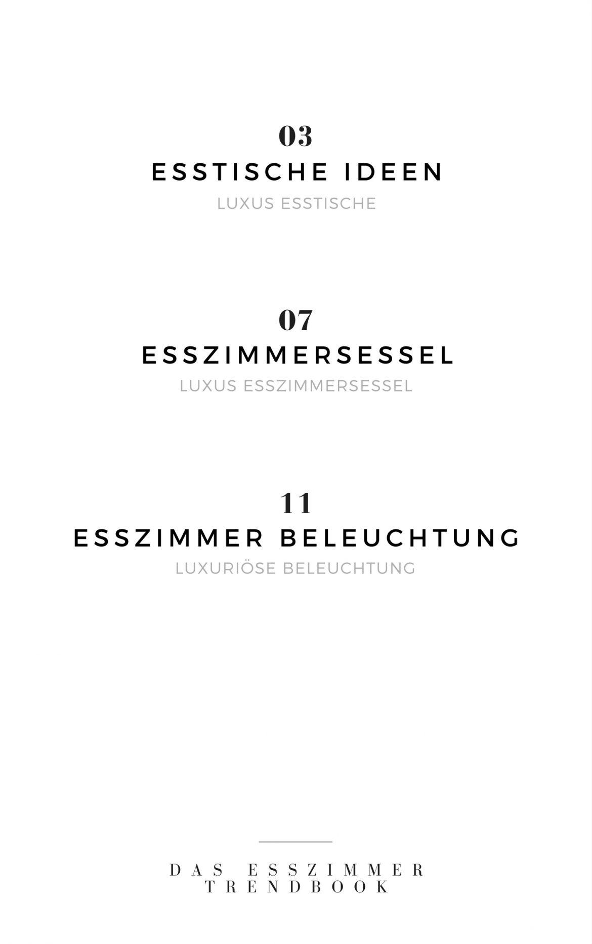 Esszimmer Trendbook Erstaunliches Esszimmer Trendbook 2