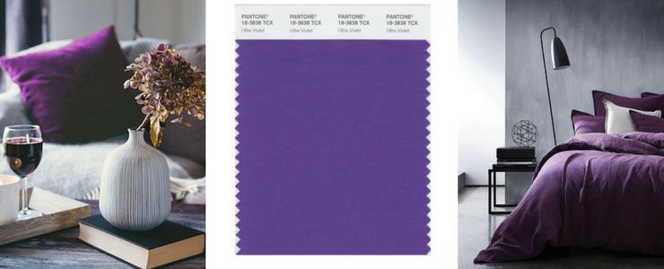 Pantone 2018 Farbe-Tendenz Dekor ihre Hause!