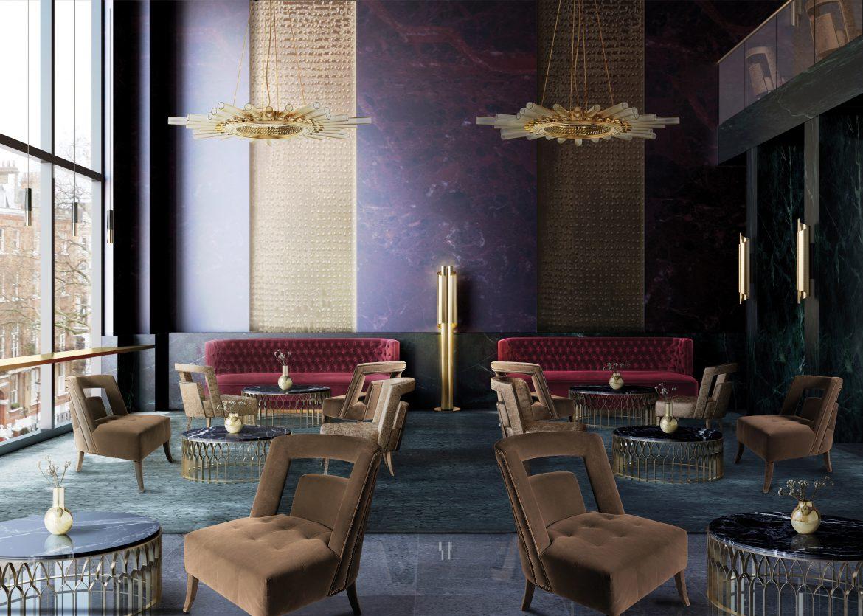 Samt, Holz und Messing. Die perfekte Designmaterial Kombination BB Hotel 7