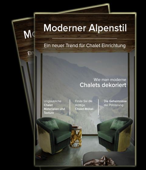 CHALETS Modern Alpine Stil Chalets 480x560