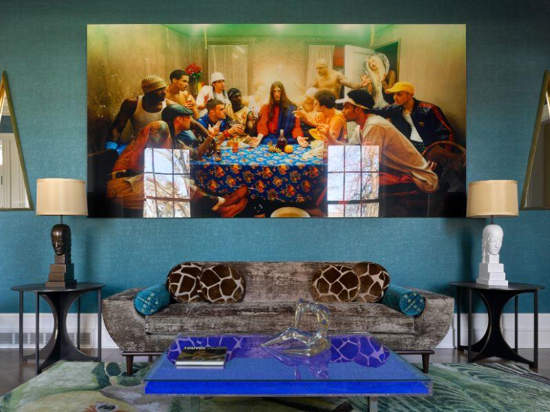 künstlerisches projekt Künstlerisches Projekt von Ananiev Interiors mit BRABBU Green2435